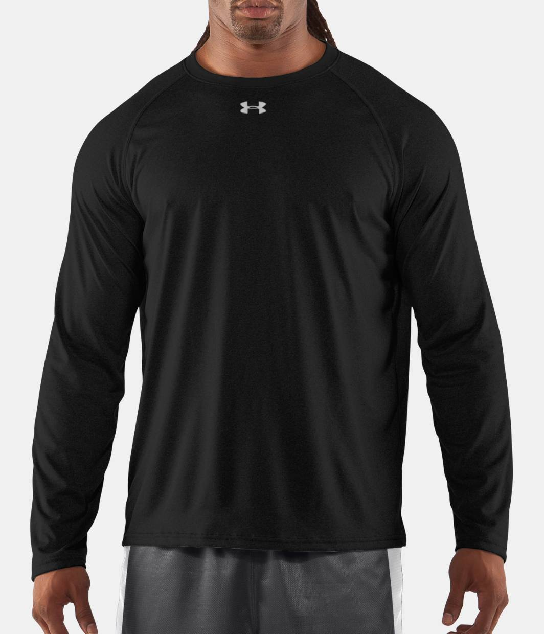 Men s ua locker long sleeve t shirt under armour ca for Men s ua locker long sleeve t shirt