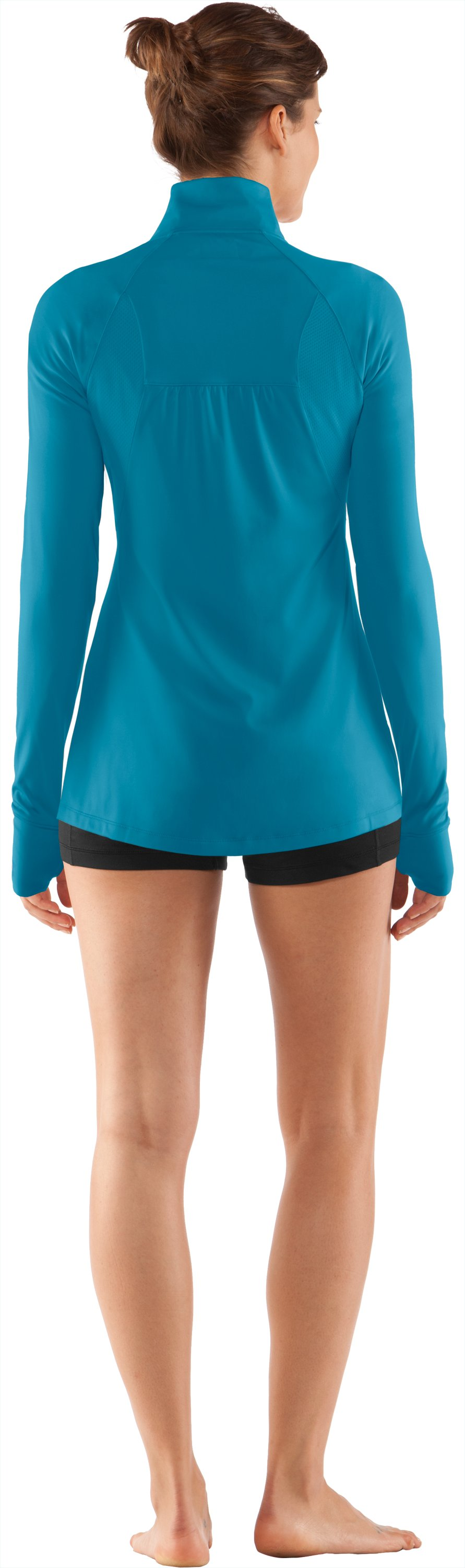 Women's UA Escape Full Zip II, Break, Back