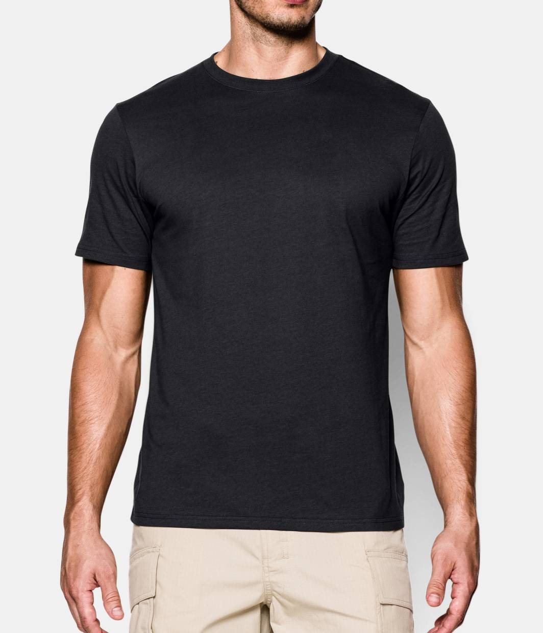 Men s ua tactical charged cotton t shirt under armour us for Under armour i will shirt