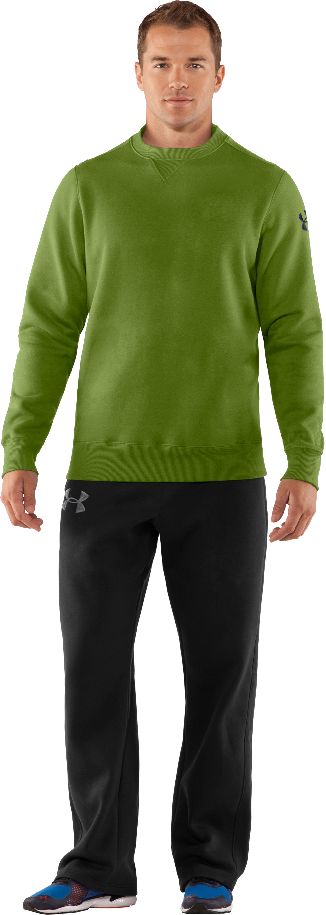 Men's Charged Cotton® Storm Crew, Kildare, Front