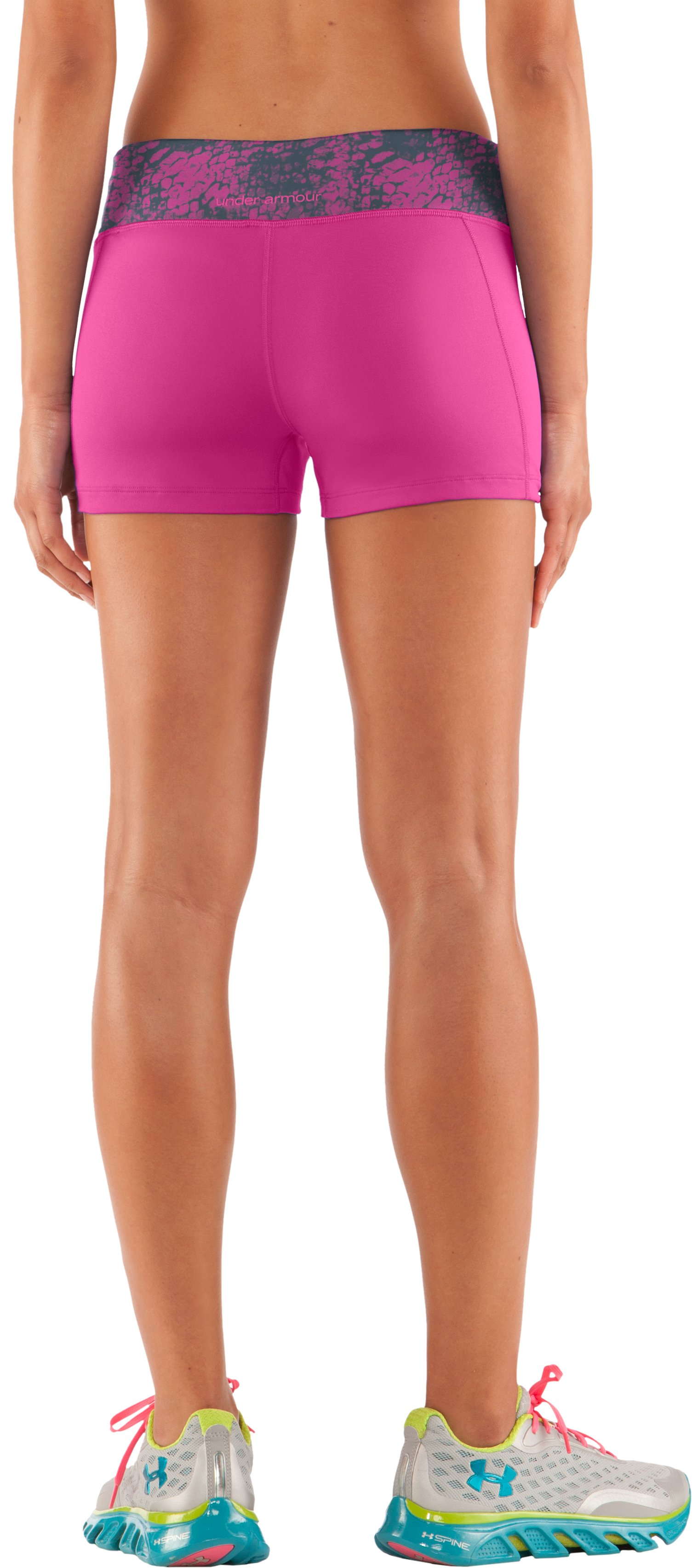 "Women's HeatGear® Sonic 2.5"" Shorty, Playful,"