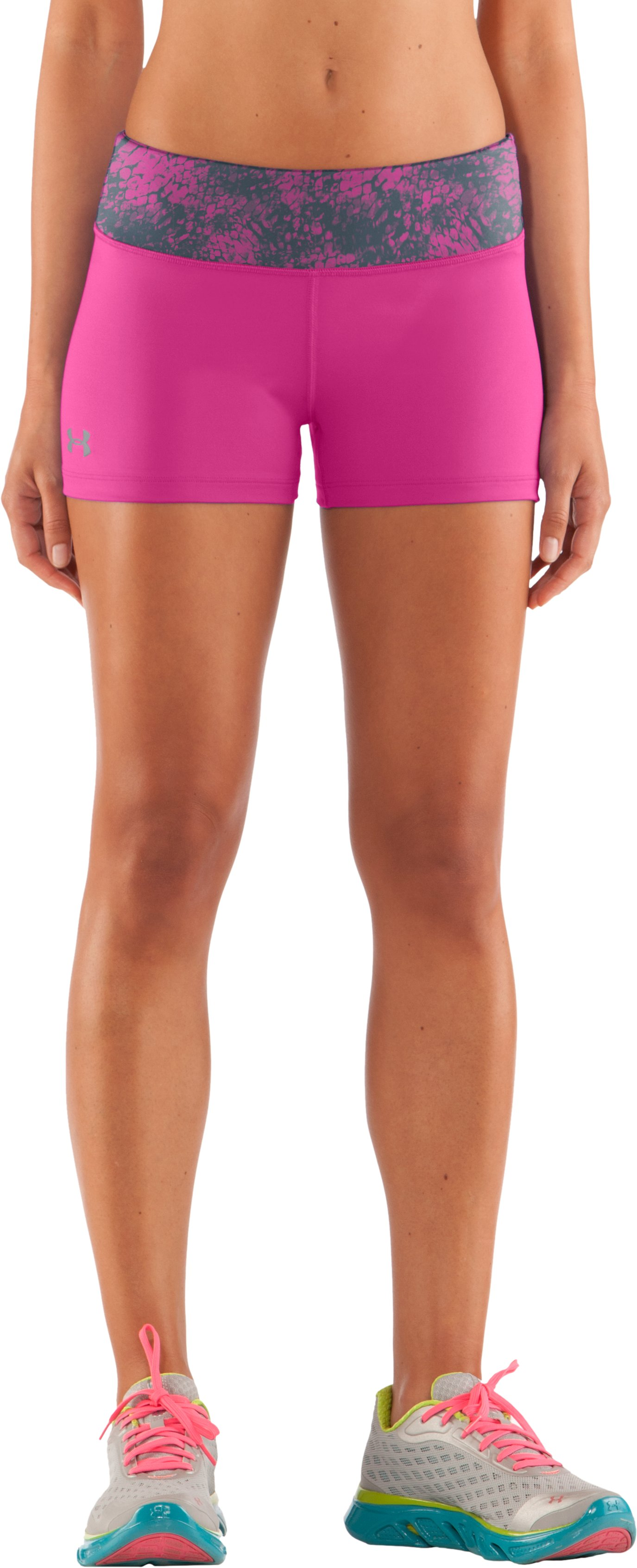 "Women's HeatGear® Sonic 2.5"" Shorty, Playful"