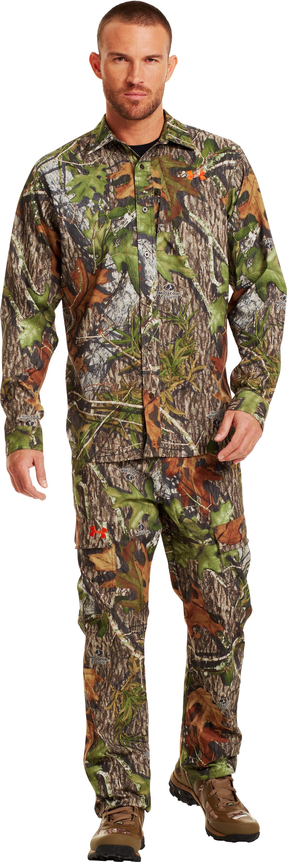 Men's UA Performance Field Pants, Mossy Oak Obsession, zoomed image