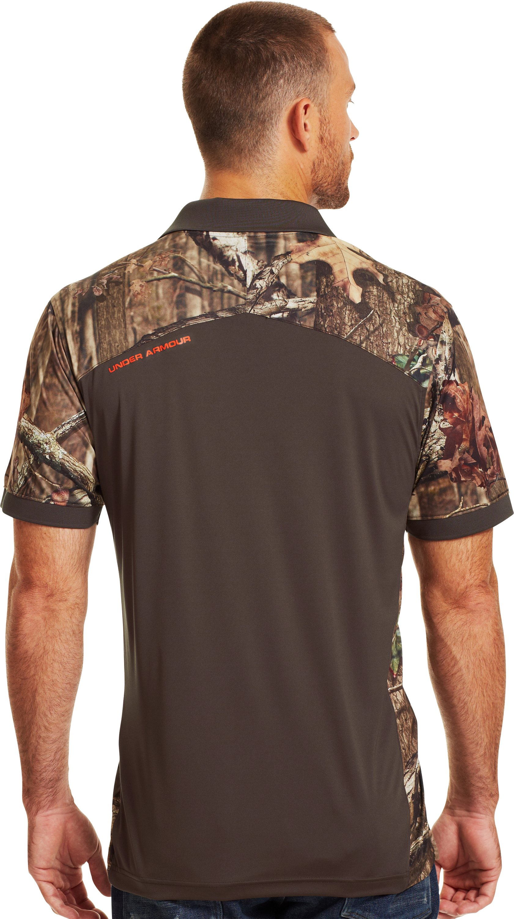 Men's UA Wylie Polo, Mossy Oak Break-Up Infinity