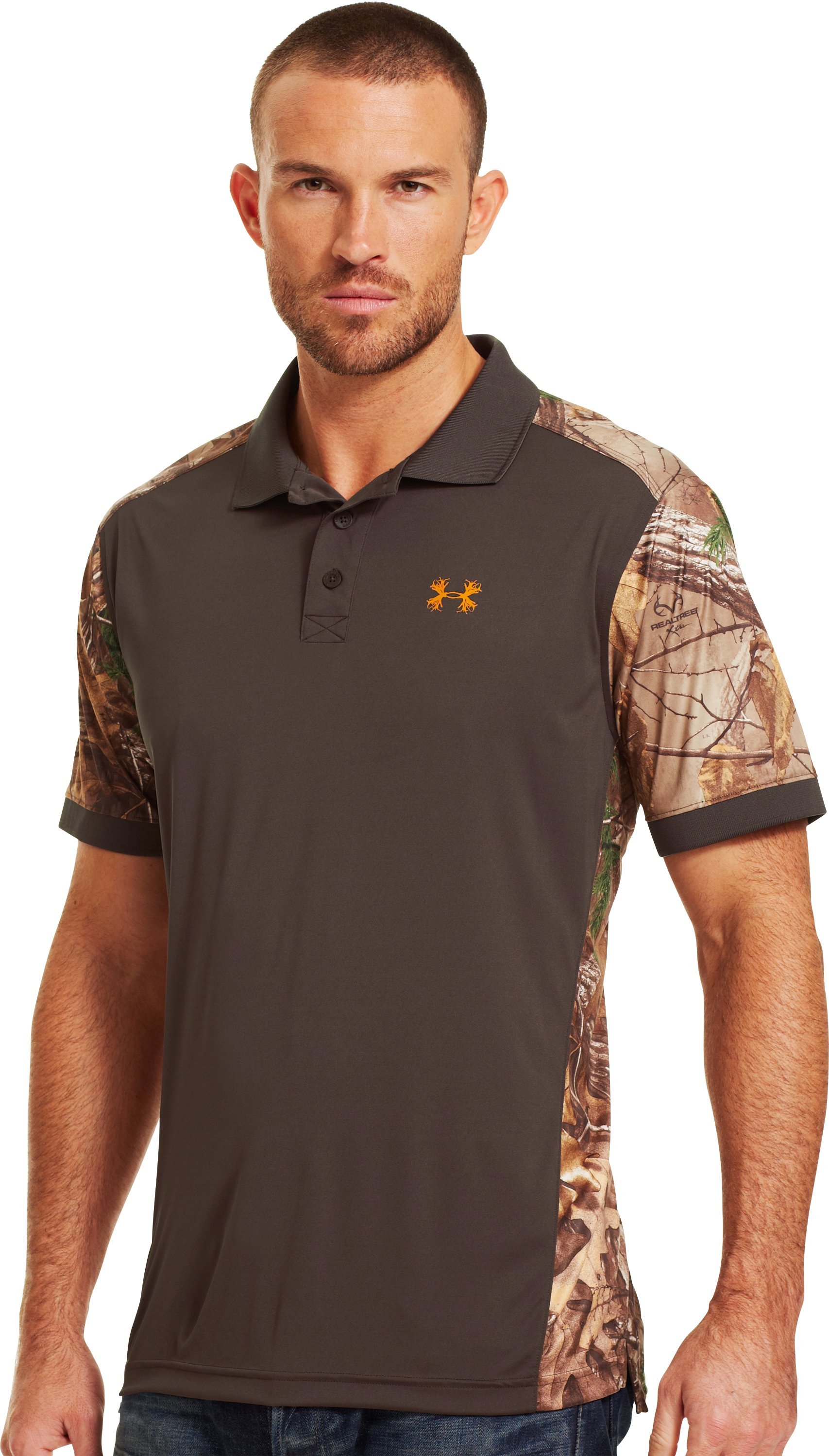 Men's UA Wylie Polo, REALTREE AP-XTRA, zoomed image