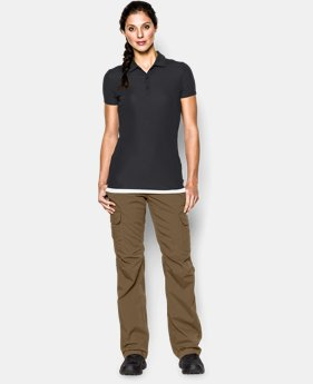 Women's UA Tactical Breech Polo LIMITED TIME: FREE U.S. SHIPPING 1 Color $37.99