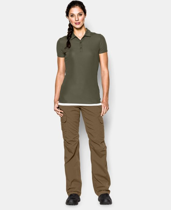 Women's UA Tactical Breech Polo LIMITED TIME: FREE U.S. SHIPPING 1 Color $49.99