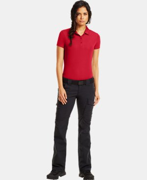 New Arrival  Women's UA Tactical Breech Polo LIMITED TIME: FREE SHIPPING 2 Colors $59.99