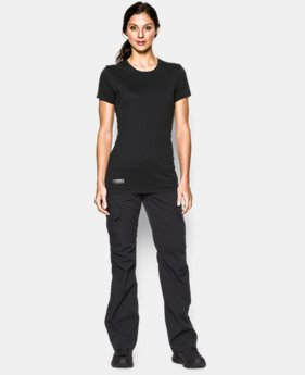 Women's UA Tactical Charged Cotton® T-Shirt  1 Color $24.99