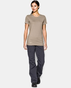 Women's UA Tactical Charged Cotton® T-Shirt LIMITED TIME: FREE U.S. SHIPPING 1 Color $18.99