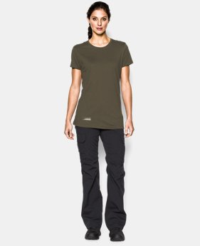 Women's UA Tactical Charged Cotton® T-Shirt LIMITED TIME: FREE U.S. SHIPPING 1 Color $24.99