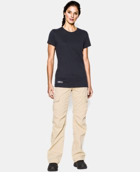 Women's UA Tactical Charged Cotton® T-Shirt  4 Colors $24.99