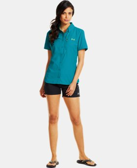 Women's UA Flats Guide Short Sleeve  1 Color $44.99