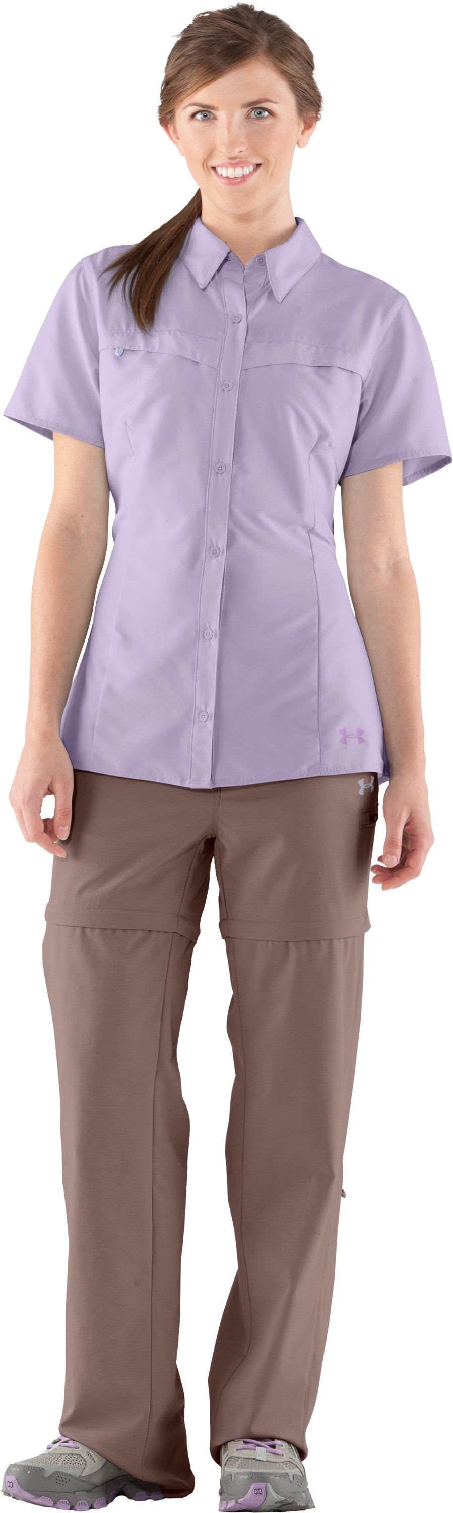 Women's UA Sedna Short Sleeve, Iris