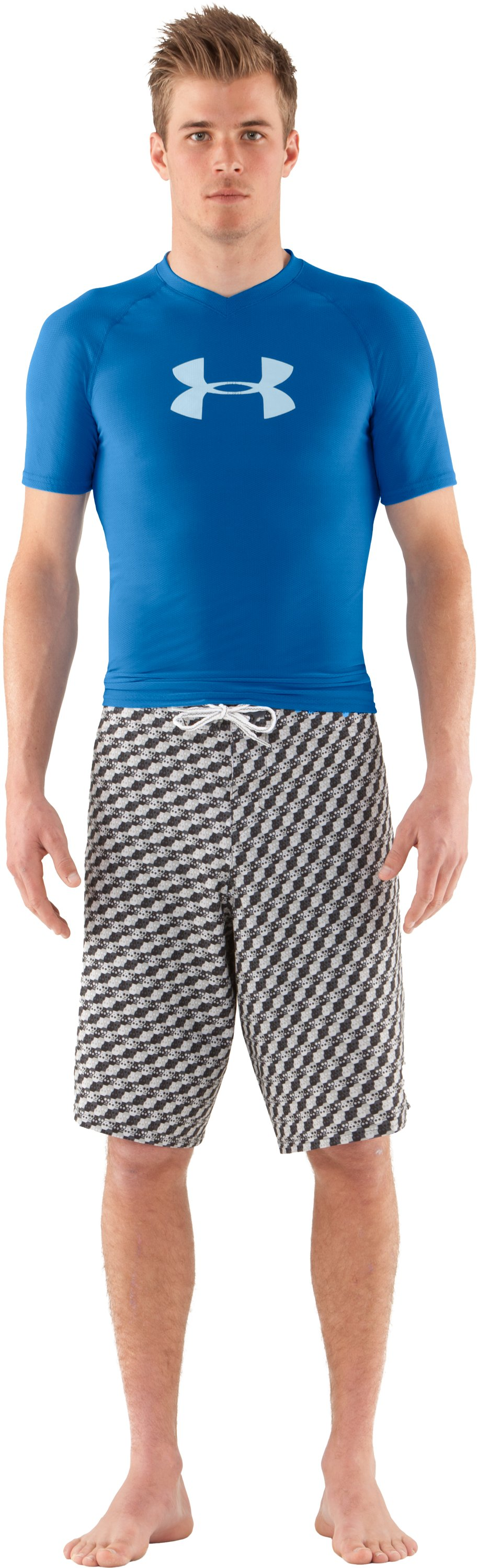 Men's UA Keewaydin Rash Guard, St. Tropez, zoomed image