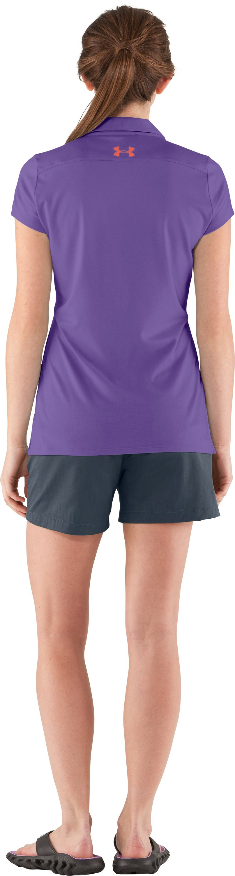 Women's UA Grove Polo, BAPTISTA, Back