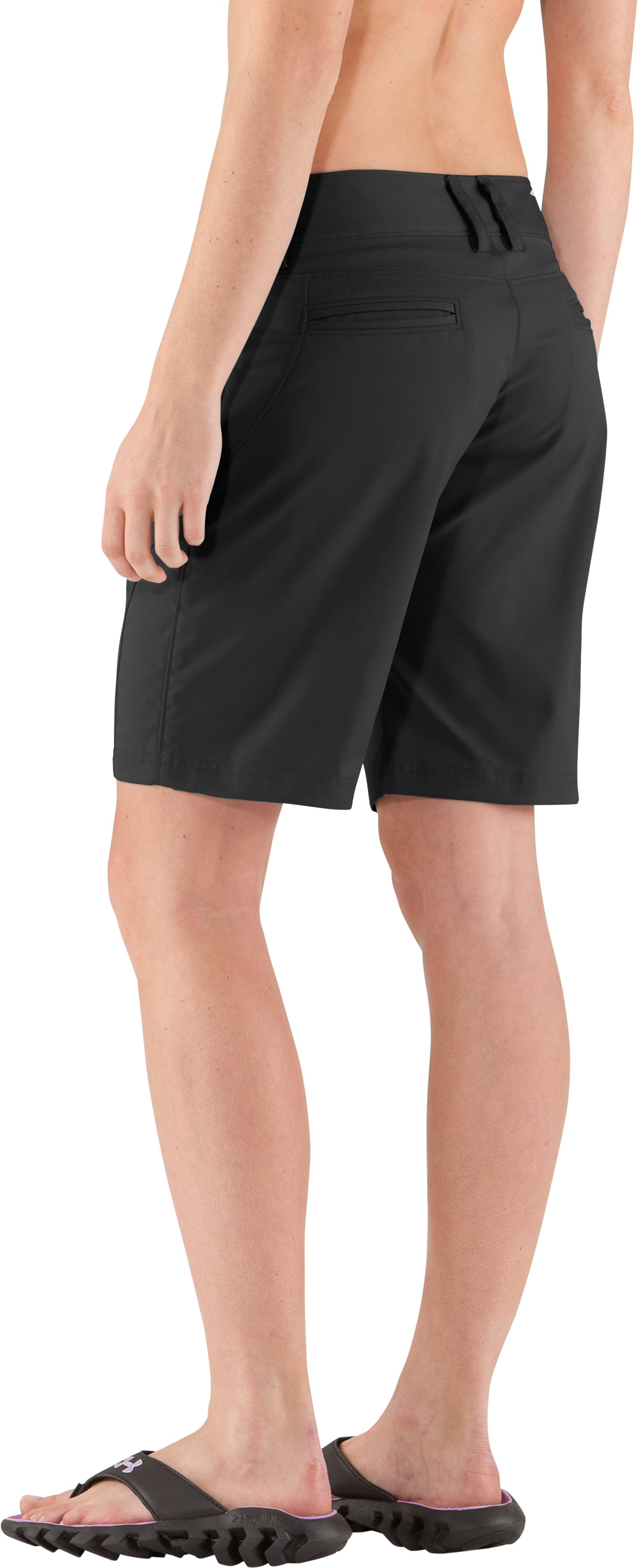 Women's UA Tellervo Walking Shorts, Black