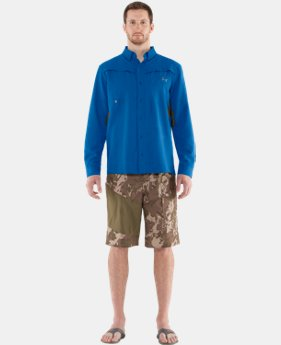 Men's UA Ventilated Woven Long Sleeve