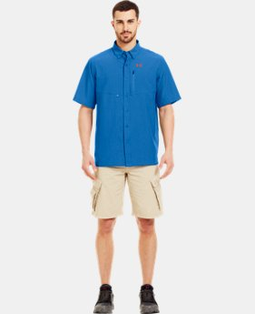 Men's UA Spinner Short Sleeve Shirt