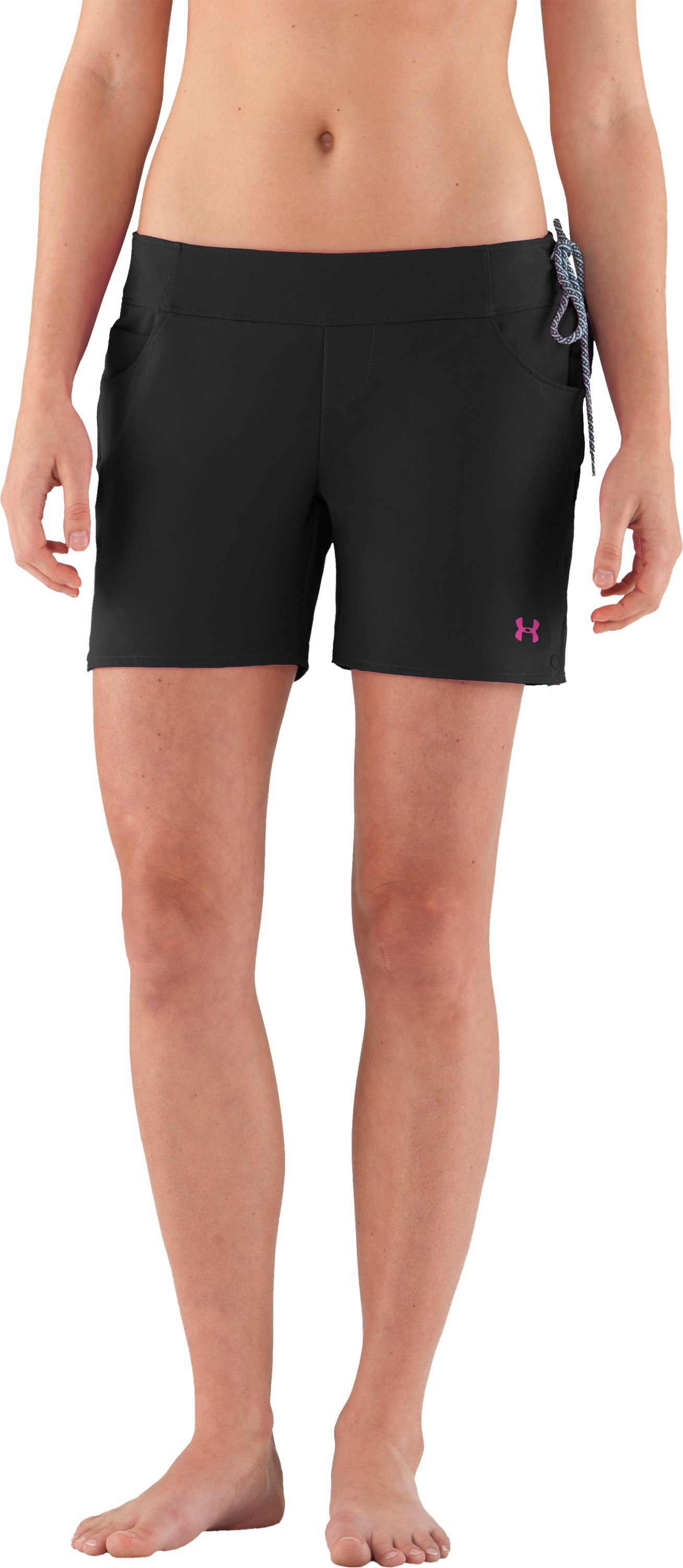Women's Wavamae Boardshorts, Black , zoomed image