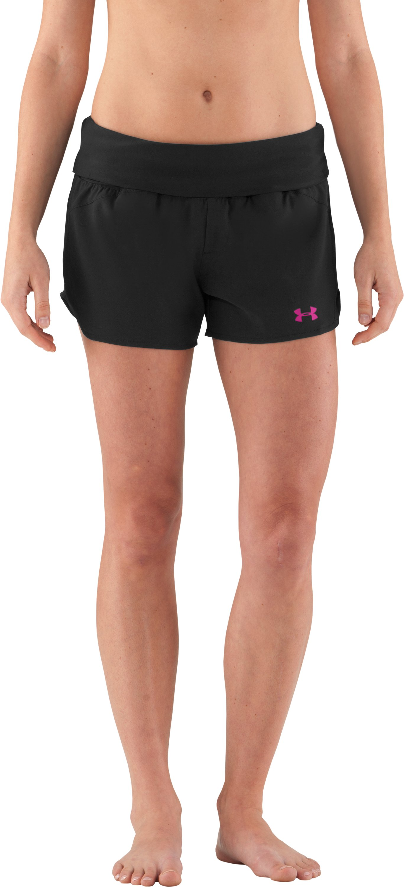 Women's Misty MTN Boardshorts, Black