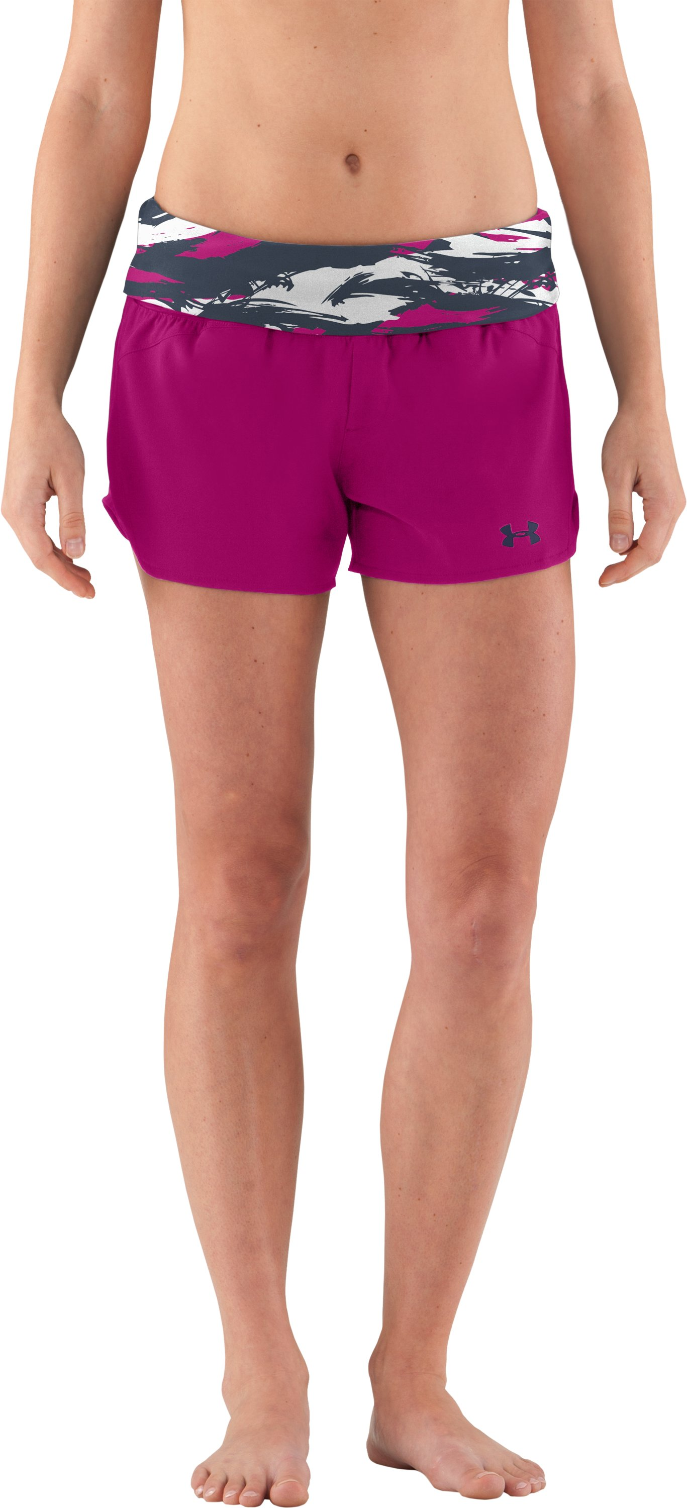 Women's Misty MTN Boardshorts, Pink Essence
