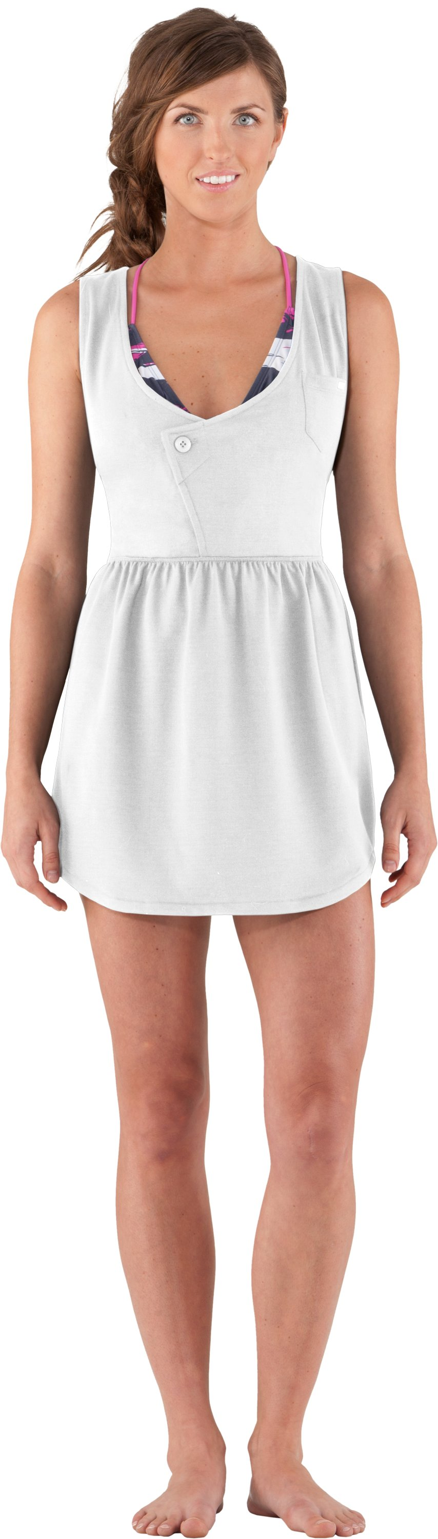 Women's Ridgely Cover-Up, White, Front
