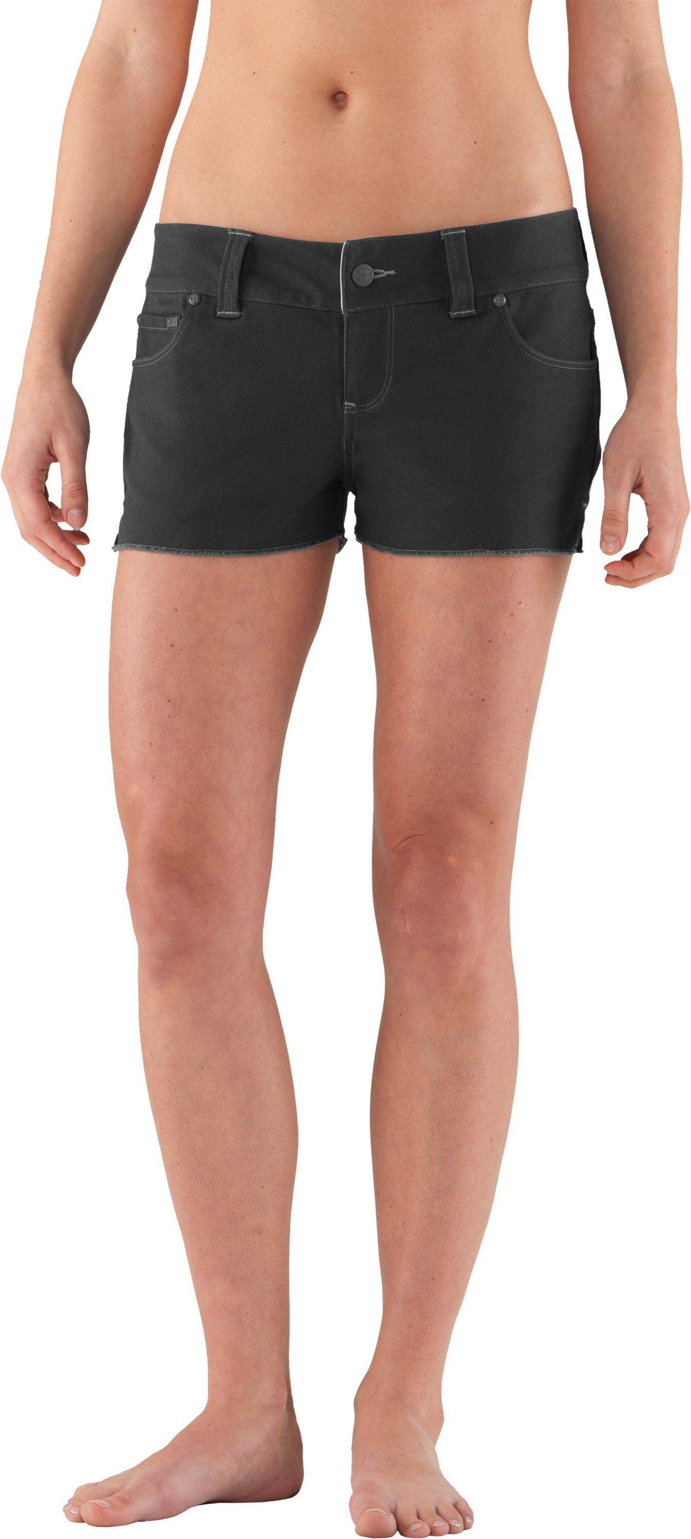 Women's UA Mohawk Shorts, Black , zoomed image