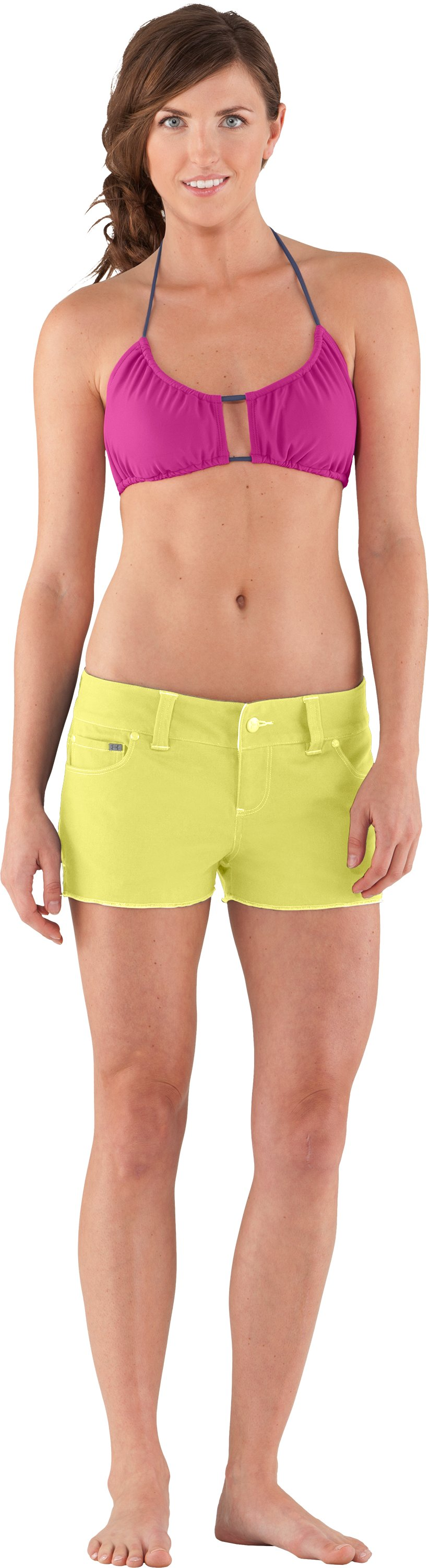 Women's UA Mohawk Shorts, RAFT, Front