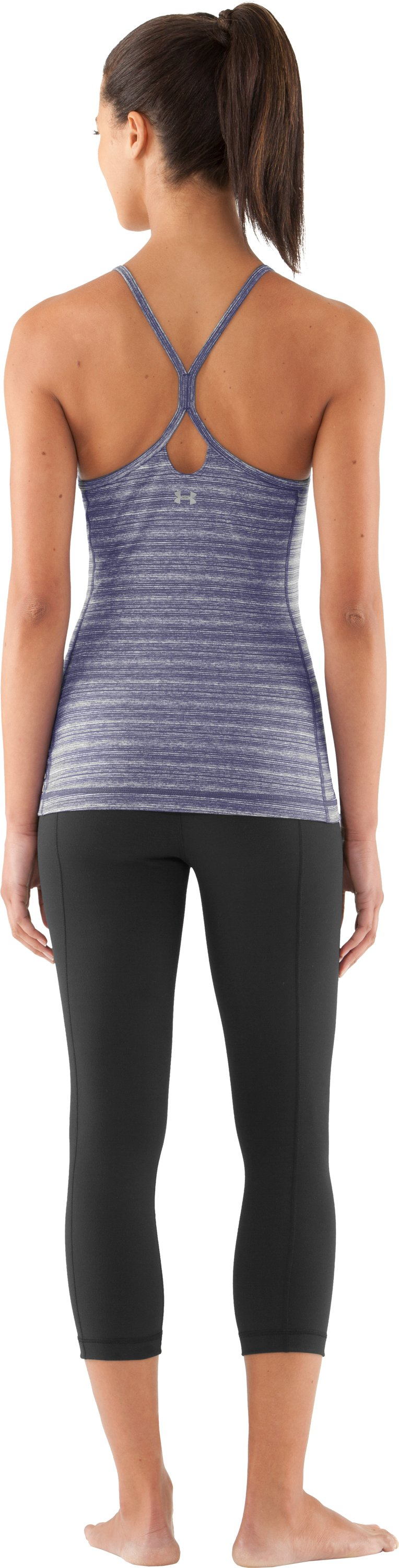 Women's UA Strappylux Tank, Starlight, Back