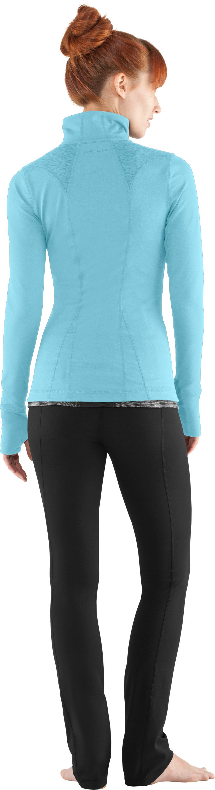 Women's UA StudioLux® Jacket, Veneer, Back
