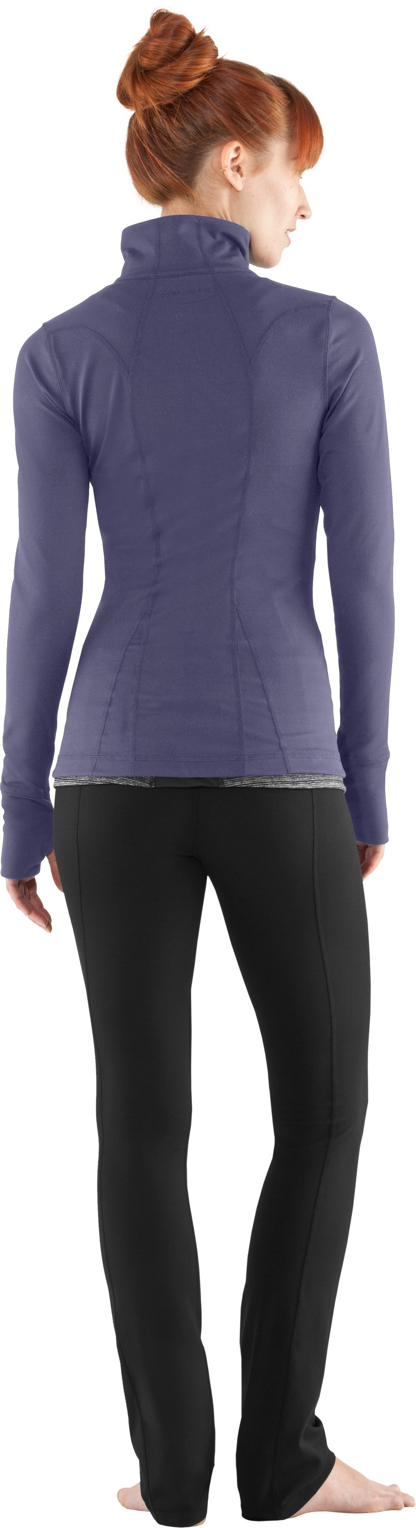 Women's UA StudioLux® Jacket, Starlight, Back