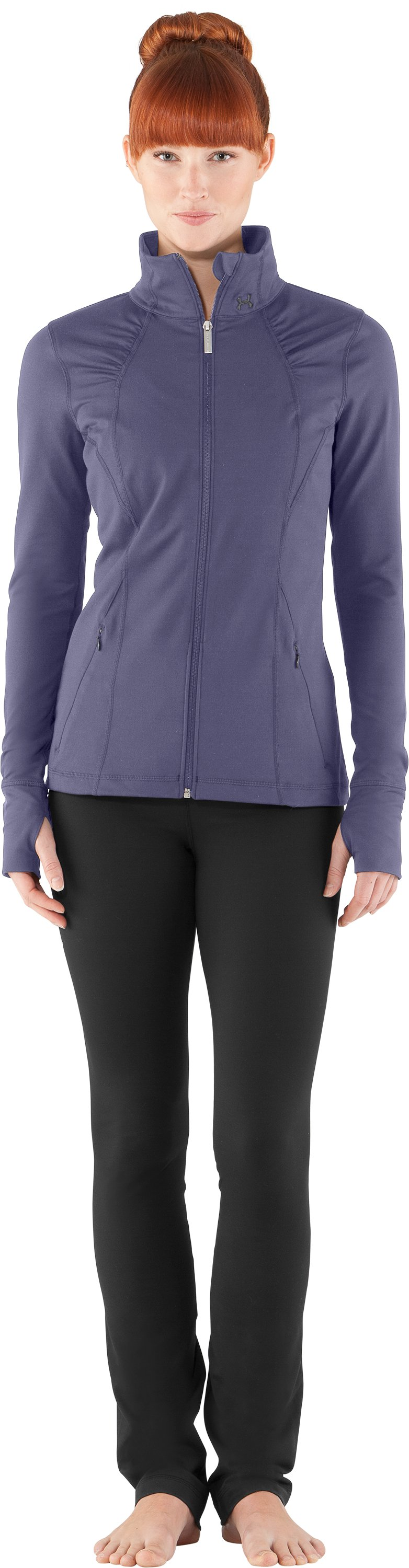 Women's UA StudioLux® Jacket, Starlight, Front