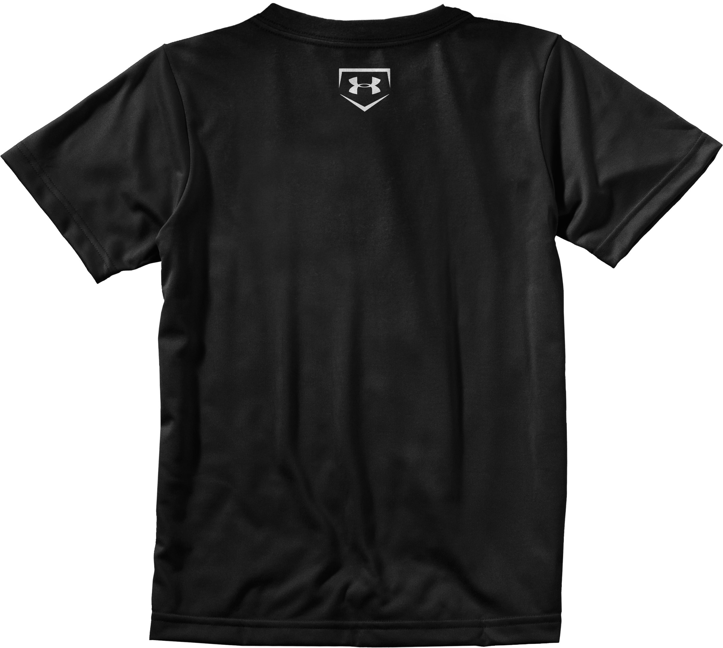 Boys' UA Future Collegiate T-Shirt, Black
