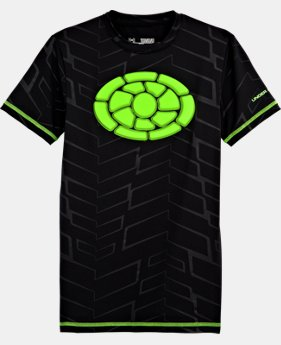 Boys' UA Brushback Short Sleeve