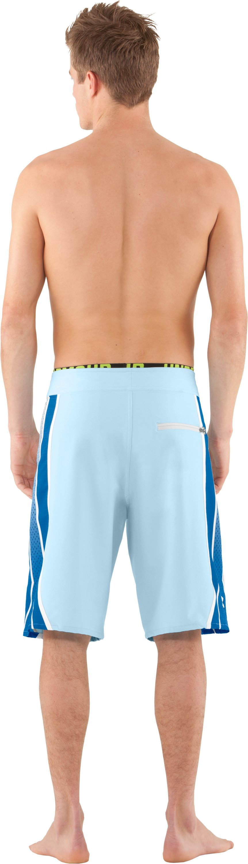 Men's UA Munnaruck Board Shorts, STREAM, Back