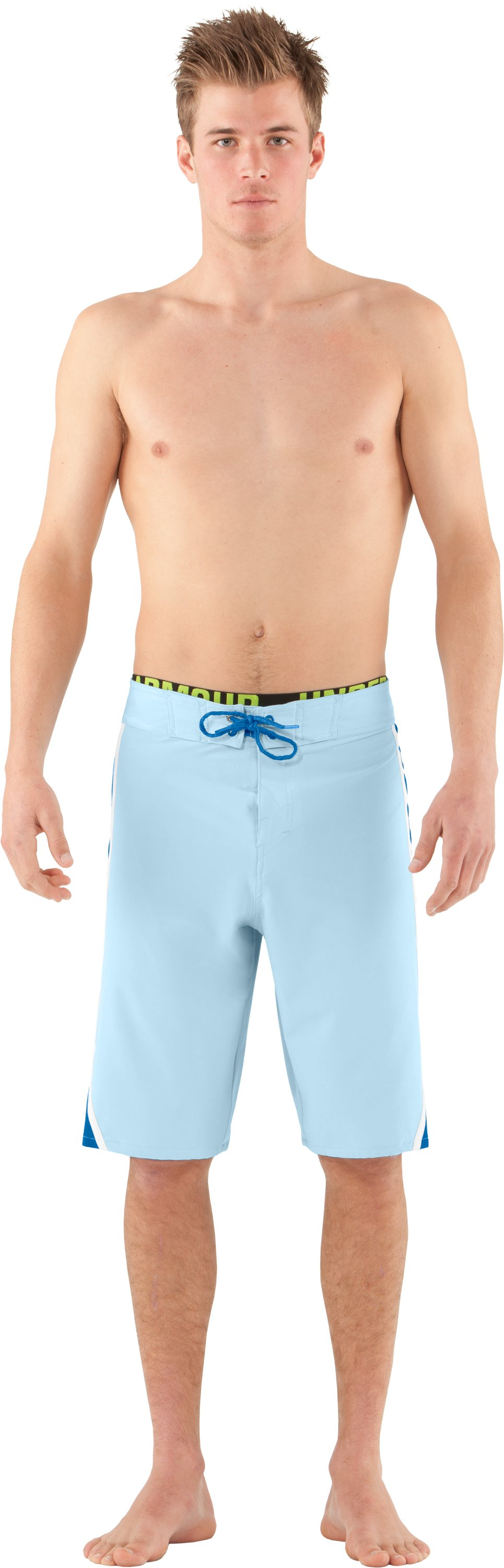 Men's UA Munnaruck Board Shorts, STREAM, Front