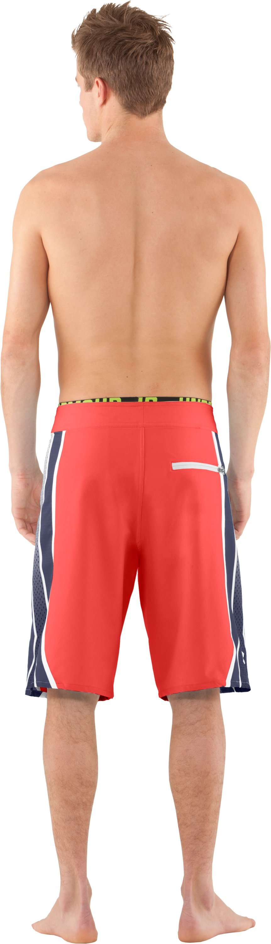 Men's UA Munnaruck Board Shorts, Fire, Back