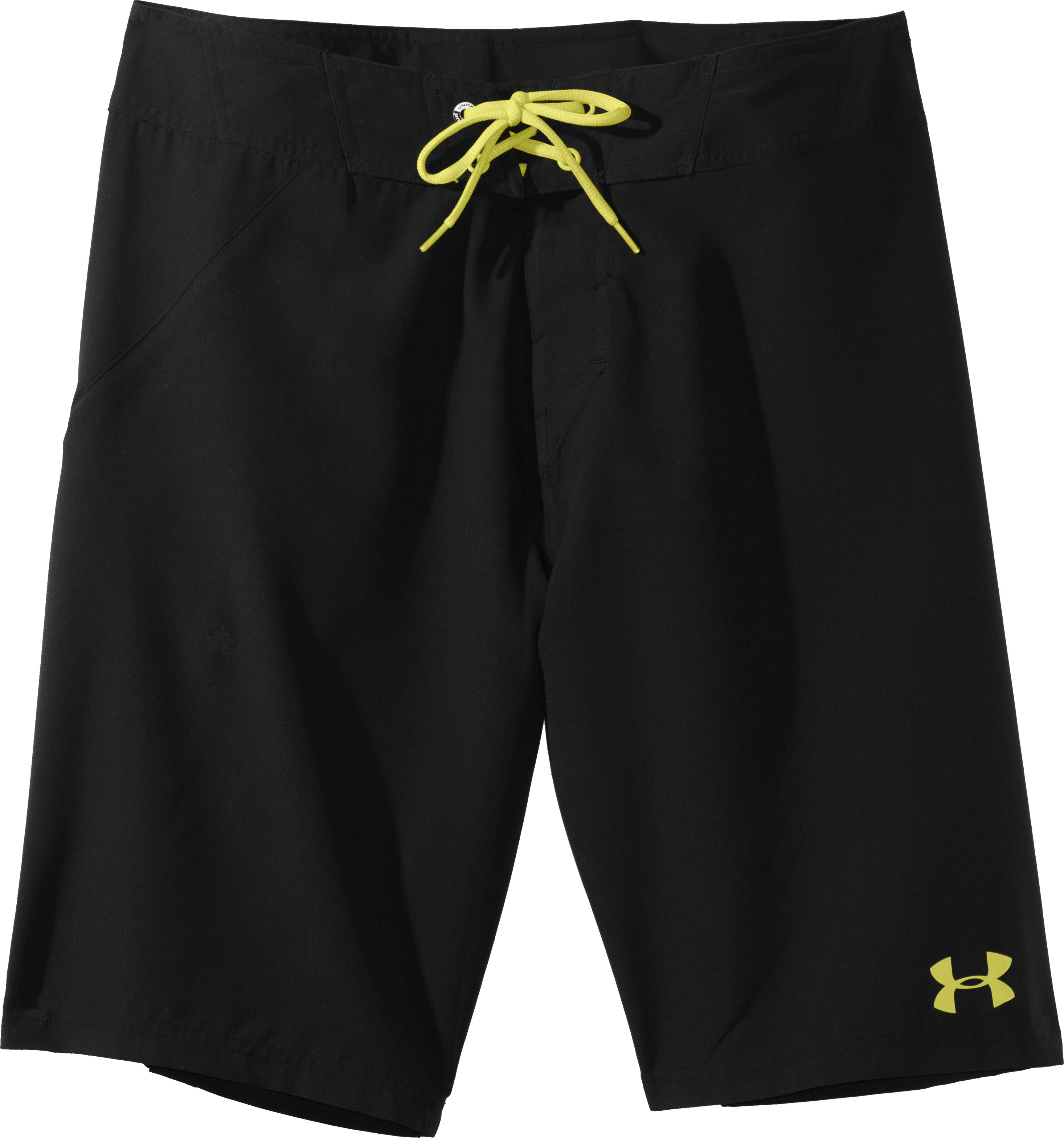 Men's UA Takahimi Board Shorts, Black , Laydown