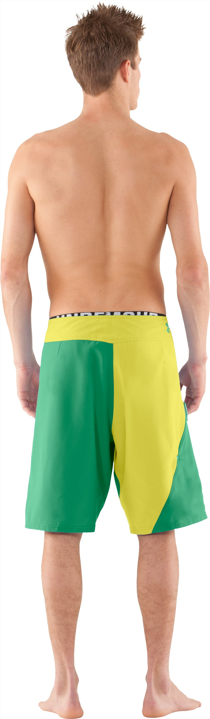 Men's UA Takahimi Board Shorts, Maze, Back