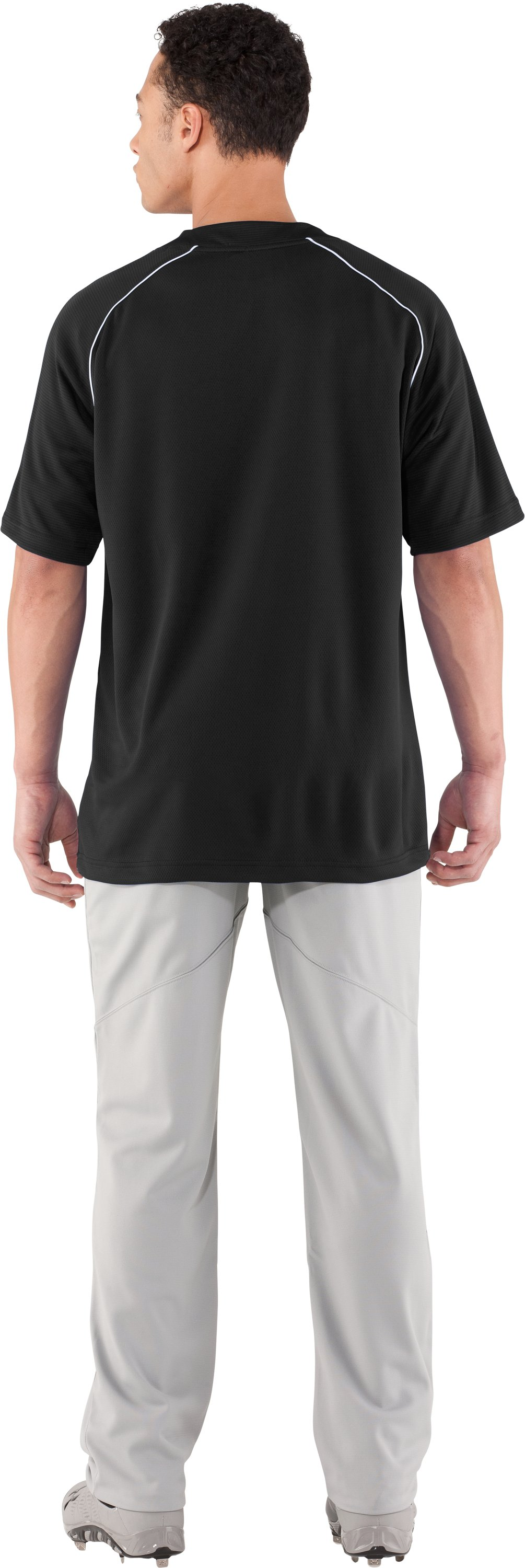 Men's UA Landsdown II Baseball Jersey, Black , Back