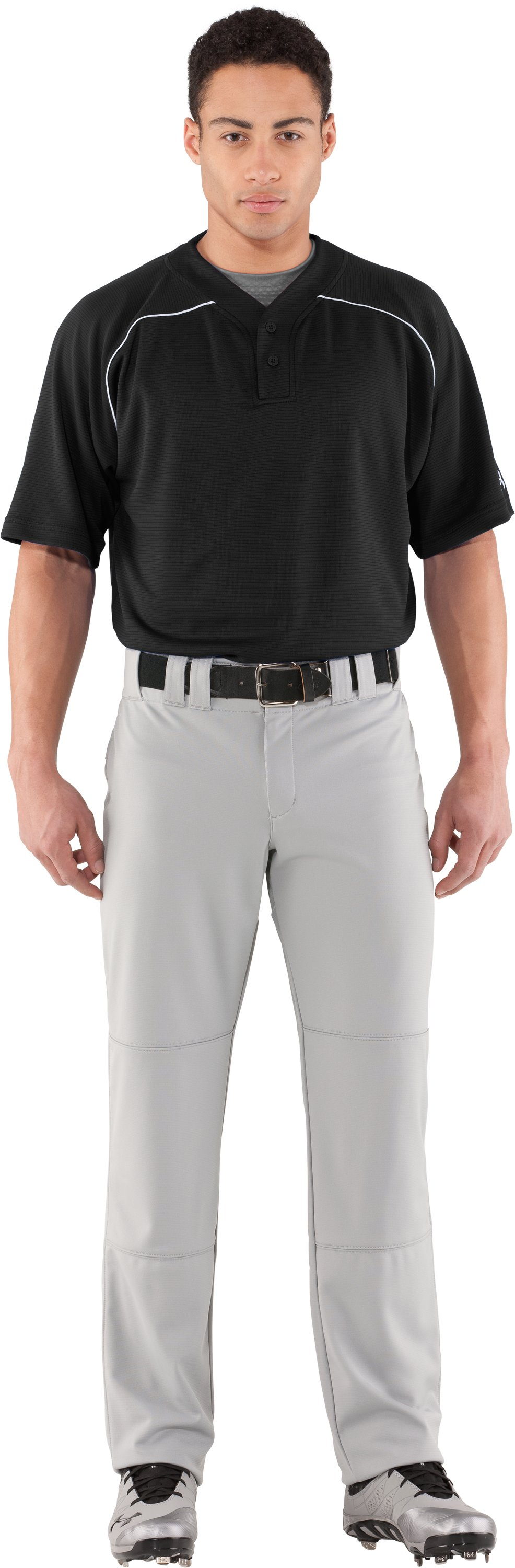 Men's UA Landsdown II Baseball Jersey, Black , Front