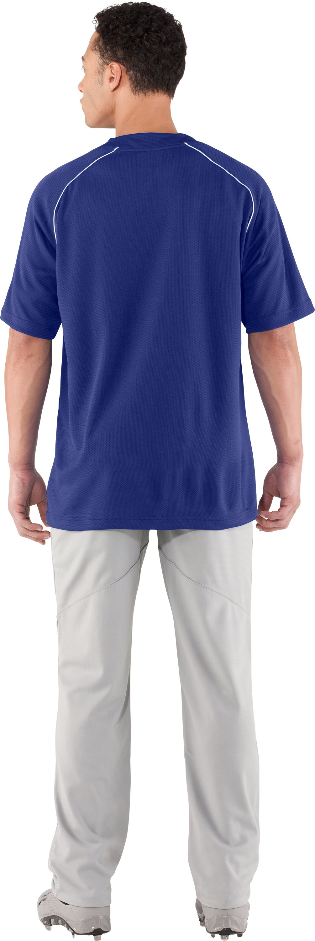 Men's UA Landsdown II Baseball Jersey, Royal, Back