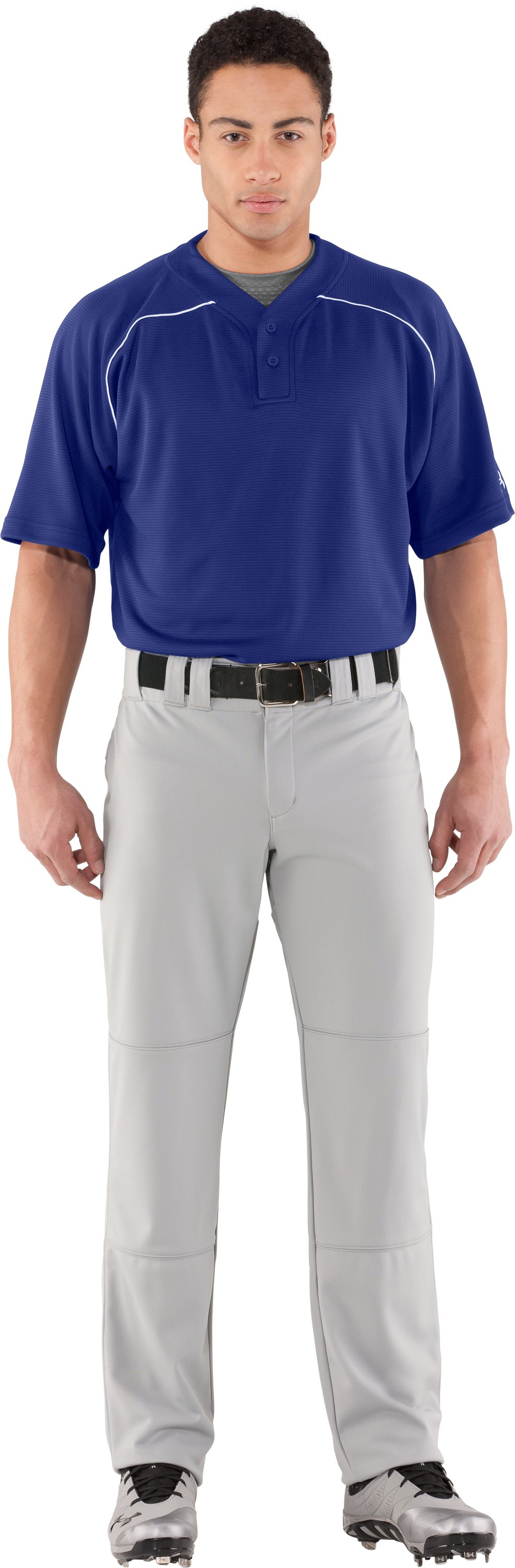 Men's UA Landsdown II Baseball Jersey, Royal, Front
