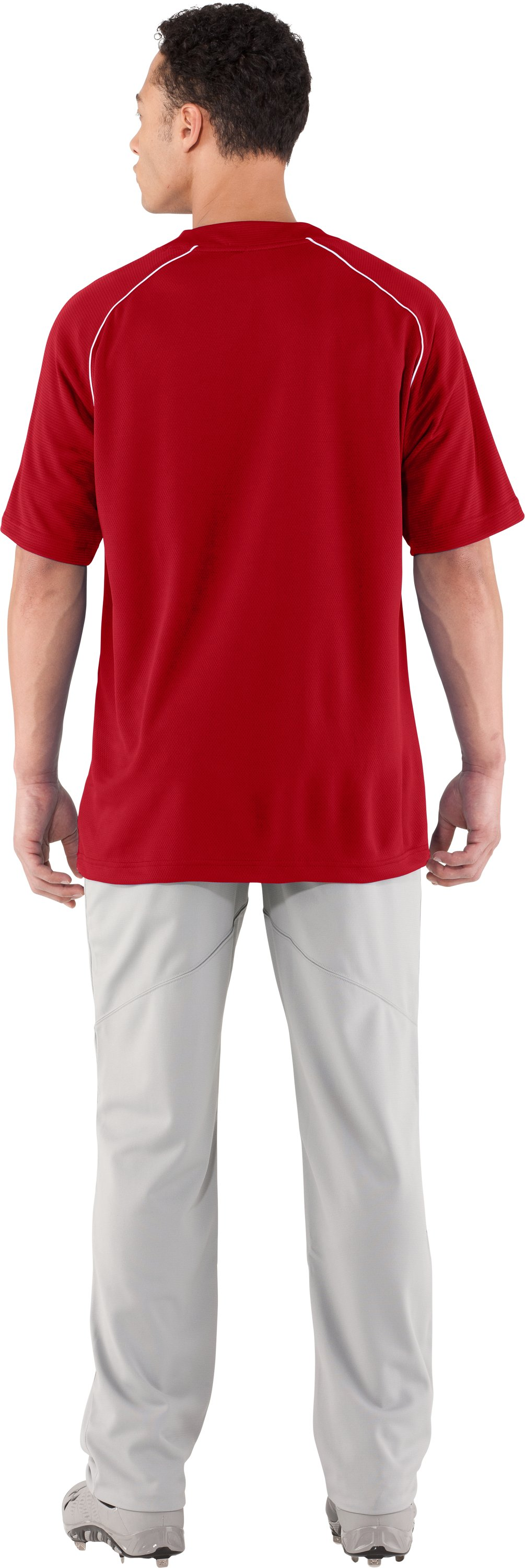 Men's UA Landsdown II Baseball Jersey, Red, Back