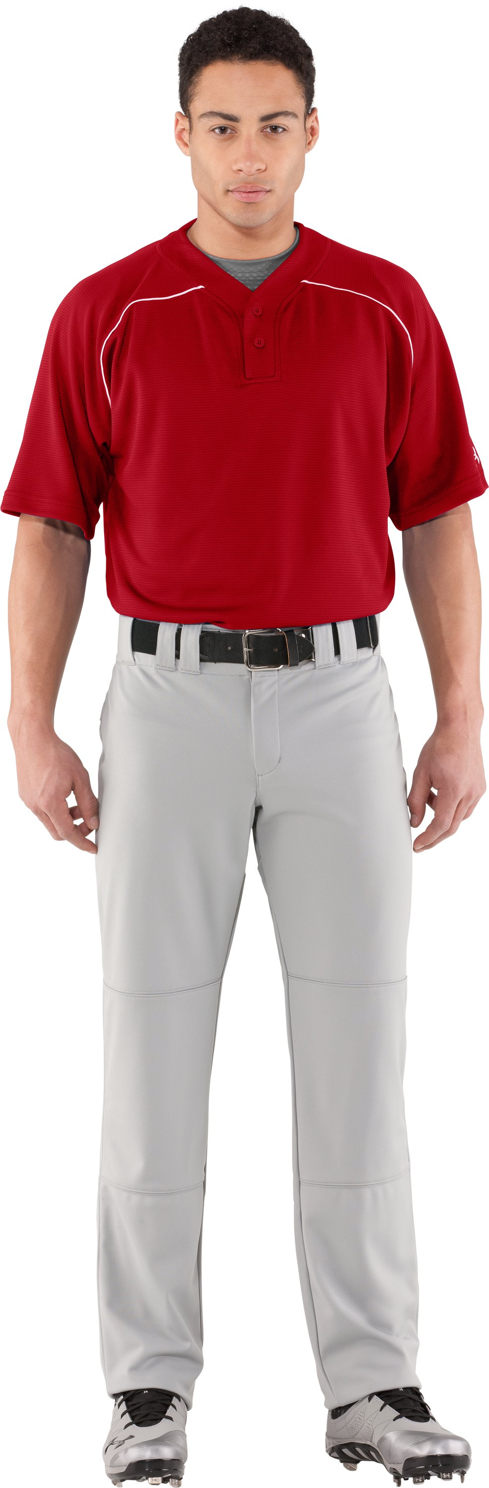 Men's UA Landsdown II Baseball Jersey, Red, Front