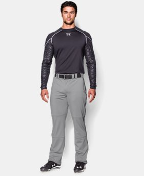 Men's UA Leadoff Piped Baseball Pants  1 Color $33.99
