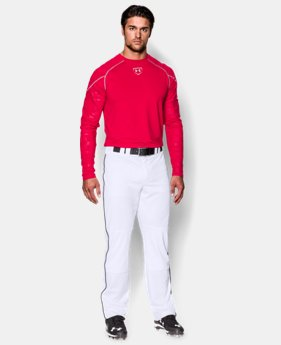 Men's UA Leadoff Piped Baseball Pants LIMITED TIME: FREE U.S. SHIPPING  $44.99