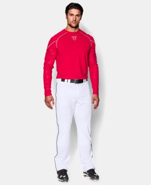 Men's UA Leadoff Piped Baseball Pants  1 Color $44.99
