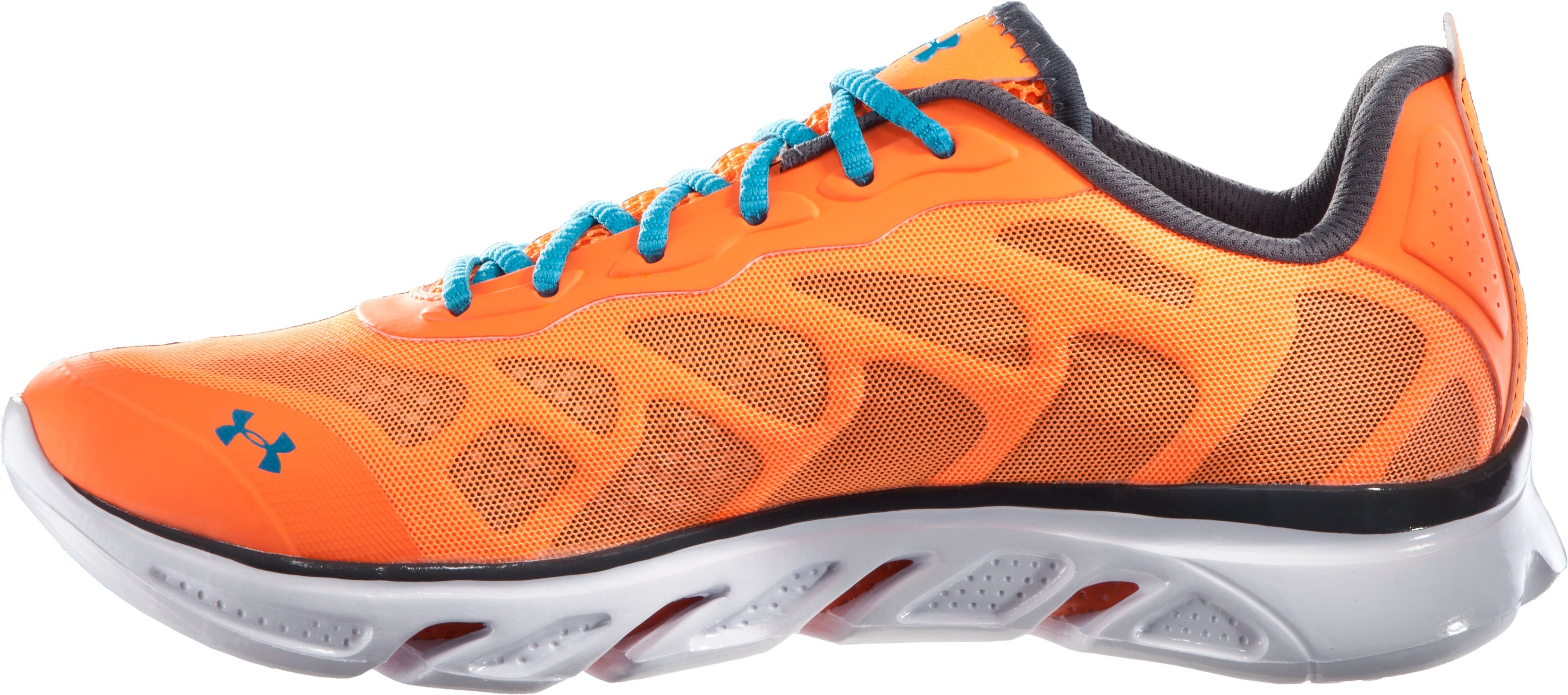 Men's UA Spine™ Venom Running Shoes, Blaze Orange, undefined